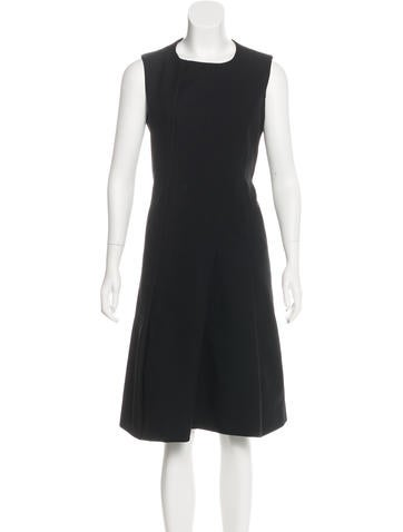 Jil Sander Sleeveless A-Line Dress None