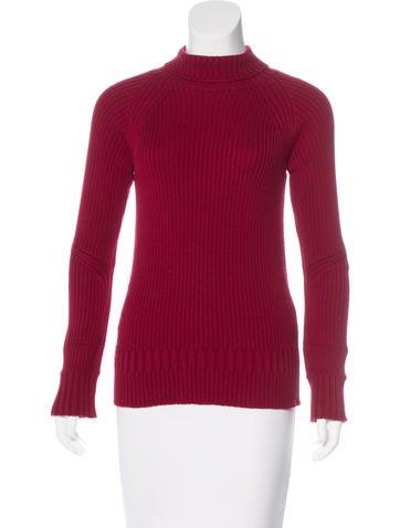 Jil Sander Wool Turtleneck Sweater. None