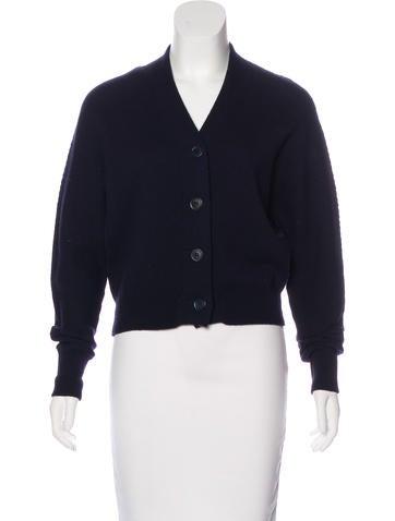 Jil Sander Wool Button-Up Cardigan None