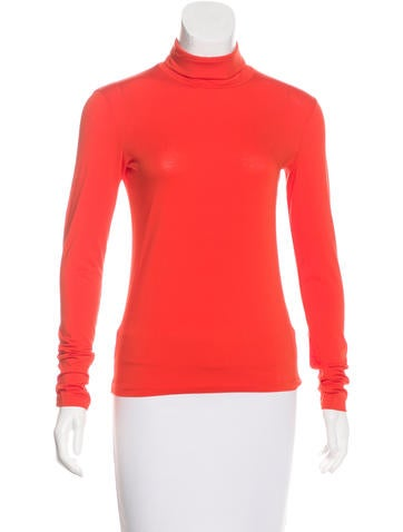 Jil Sander Turtleneck Long Sleeve Top None