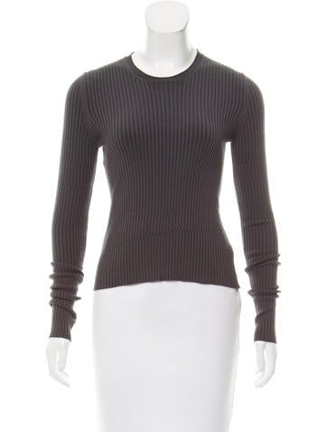 Jil Sander Textured Wool Top None