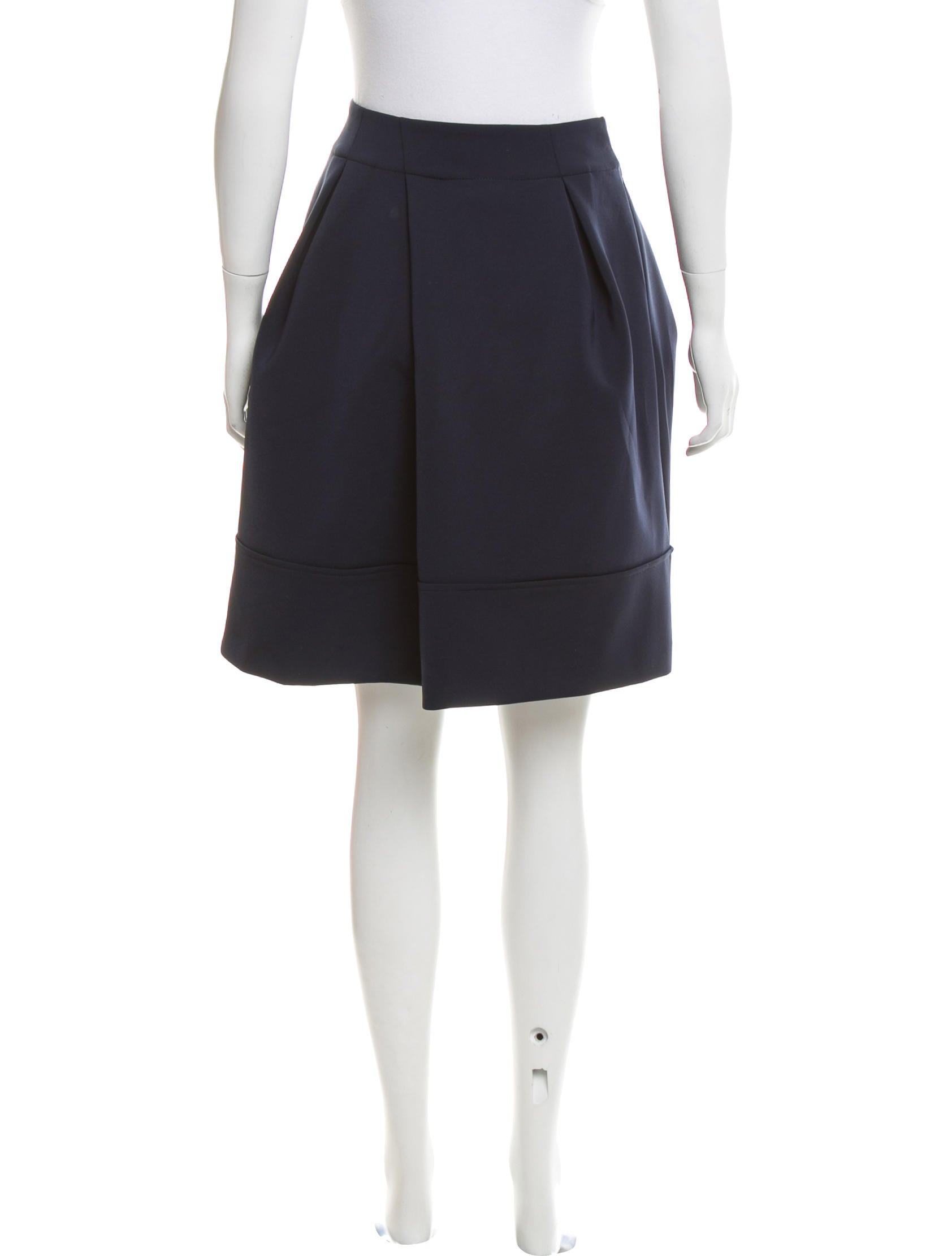 jil sander structured a line skirt w tags clothing