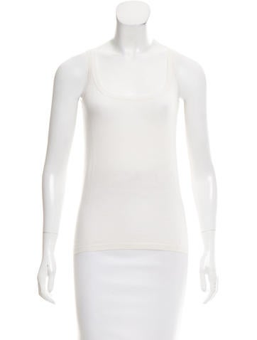 Jil Sander Sleeveless Cashmere Top None