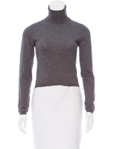 Jil Sander Wool Turtleneck Sweater None