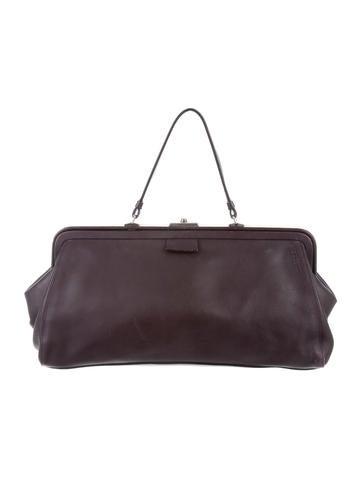 Jil Sander Leather Frame Bag None