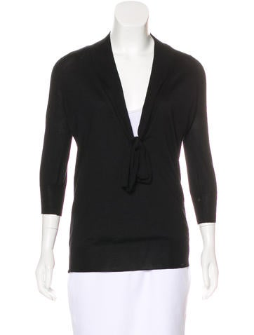Jil Sander Cashmere & Silk-Blend Top None