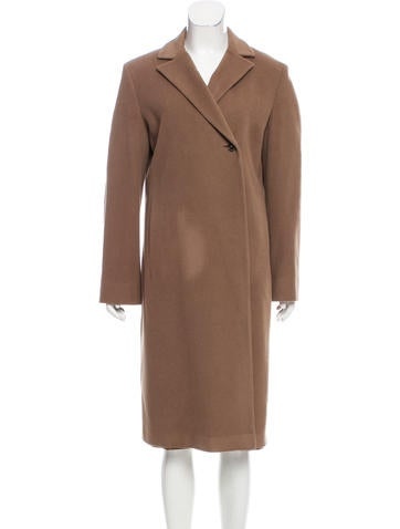 Jil Sander Cashmere & Wool-Blend Long Coat None