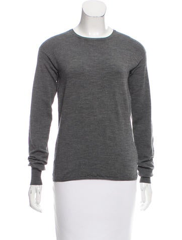 Jil Sander Wool Long Sleeve Sweater None