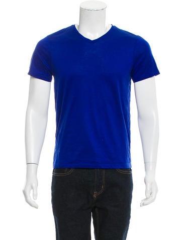 Jil Sander Short Sleeve V-neck T-Shirt None