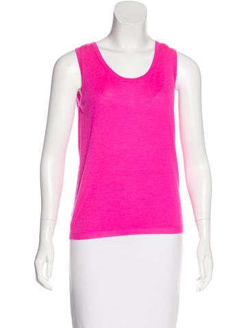 Jil Sander Sleeveless Cashmere Sweater None