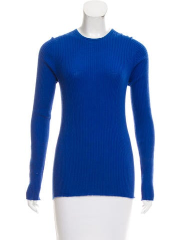 Jil Sander Rib Knit Top None