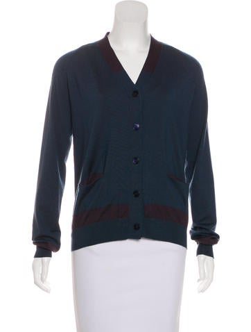 Jil Sander Cashmere-Blend Knit Cardigan None