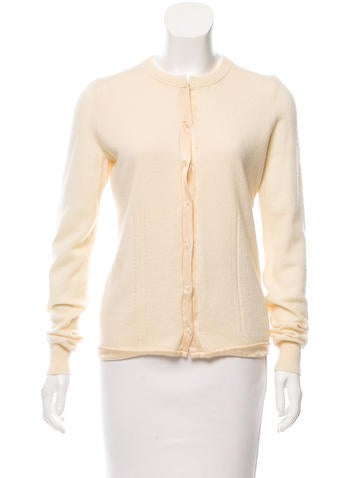 Jil Sander Wool Knit Cardigan None