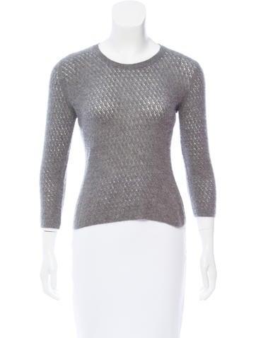 Jil Sander Crew Neck Cashmere Sweater None