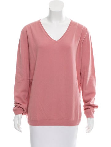 Jil Sander Cashmere Scoop Neck Sweater None