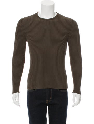 Jil Sander Rib Knit Sweater None