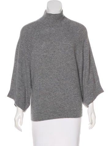Jil Sander Cashmere Mock Neck Sweater None