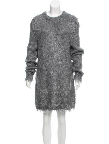 Jil Sander Textured Sweater Dress w/ Tags None