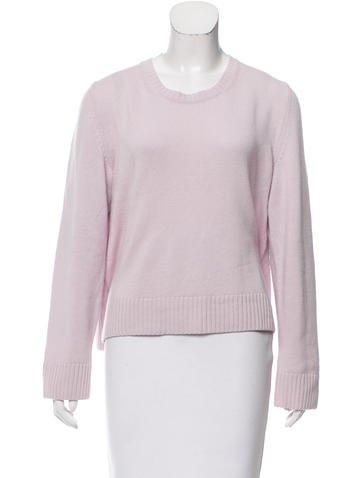 Jil Sander Cashmere Rib Knit Sweater None