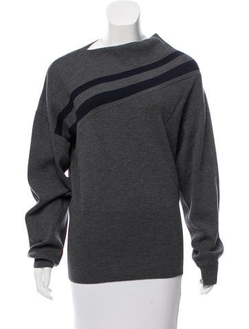 Jil Sander Asymmetrical Wool Sweater None