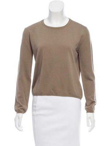 Jil Sander Cropped Wool Sweater None