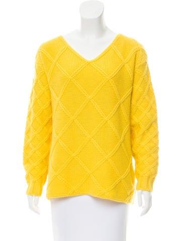 Jil Sander Patterned  Cashmere Sweater None