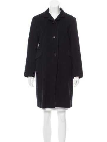 Jil Sander Cashmere Knee-Length Coat None