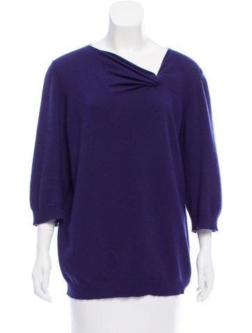 Jil Sander Knit V-Neck Sweater None