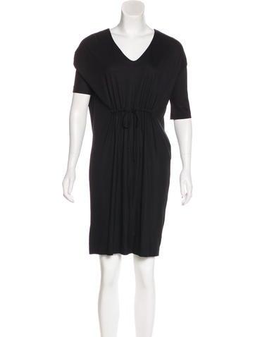 Jil Sander Three-Quarter Sleeves Mini Dress None