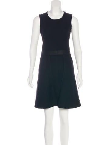 Jil Sander Sleeveless Mini Dress None