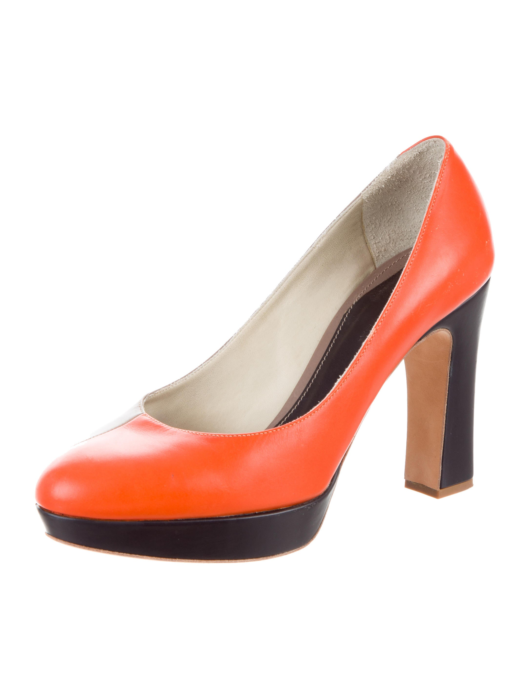 Jil Sander Bicolor Platform Pumps outlet pictures cheap outlet locations genuine online order sale online cheap pay with paypal 7Ty3NI3
