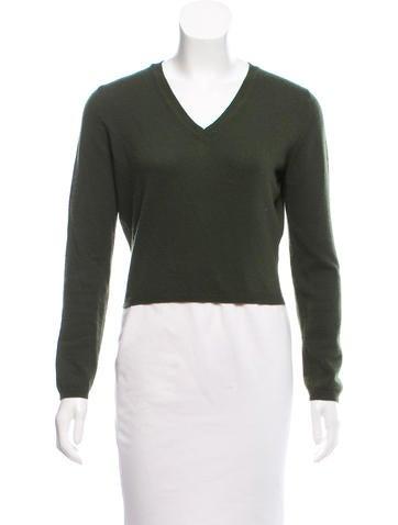 Jil Sander Cropped Cashmere Sweater None