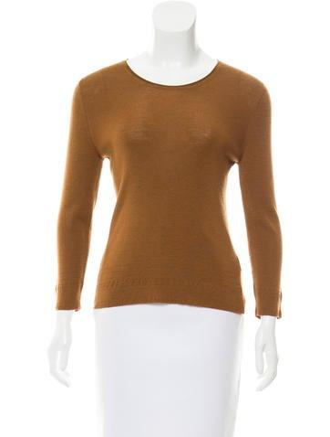 Jil Sander Wool Long Sleeve Top None