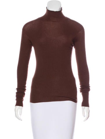 Jil Sander Cashmere Turtleneck Top None