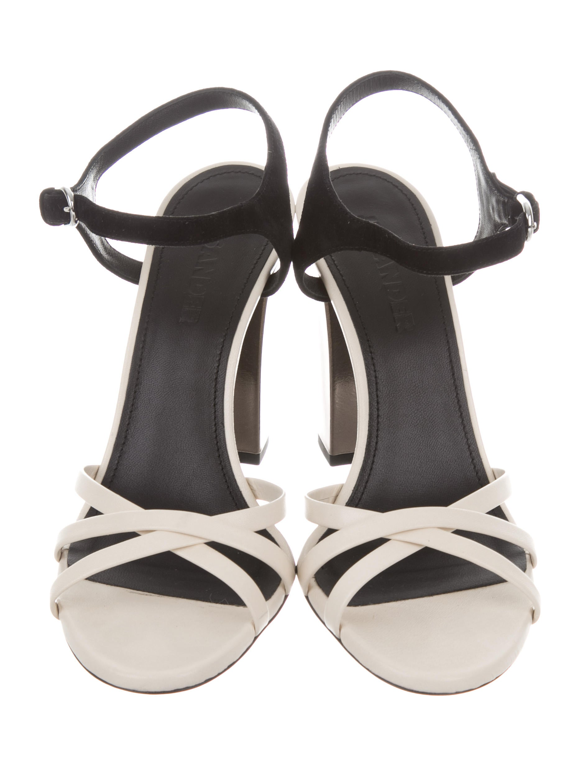 Jil Sander Leather Bicolor Sandals w/ Tags limited edition cheap online cheap sale original buy cheap largest supplier outlet footlocker WkBC2