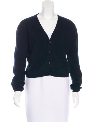 Jil Sander Long Sleeve Cashmere Cardigan None