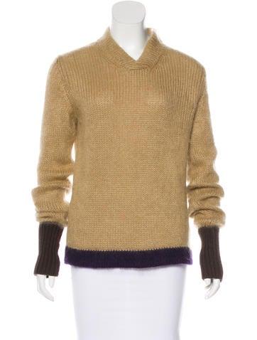 Jil Sander Knit Long Sleeve Sweater None