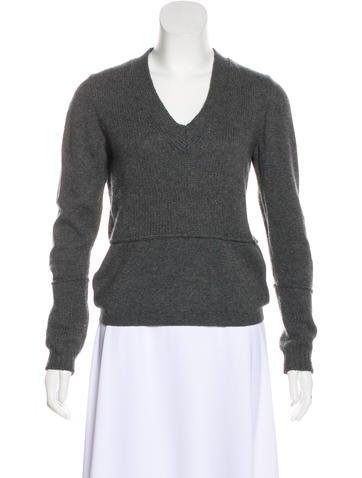 Jil Sander Cashmere-Blend Knit Sweater None
