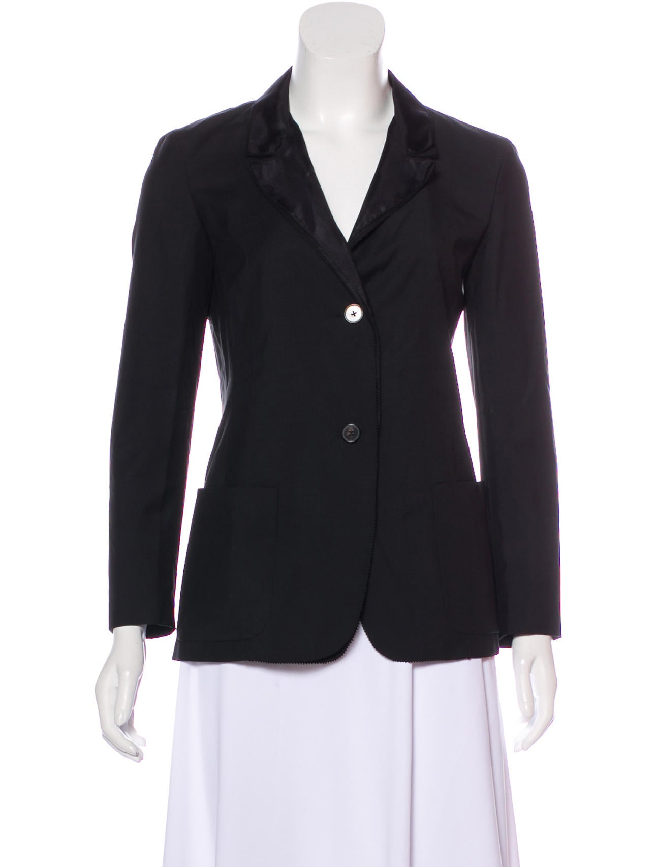 Outlet Factory Outlet Clearance Best Wholesale Jil Sander Notch-Lapel Blazer w/ Tags Buy Cheap New Arrival TyVf4SF53C