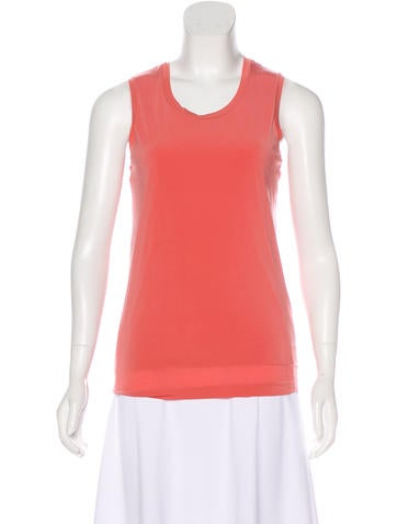 Jil Sander Sleeveless Knit Top None