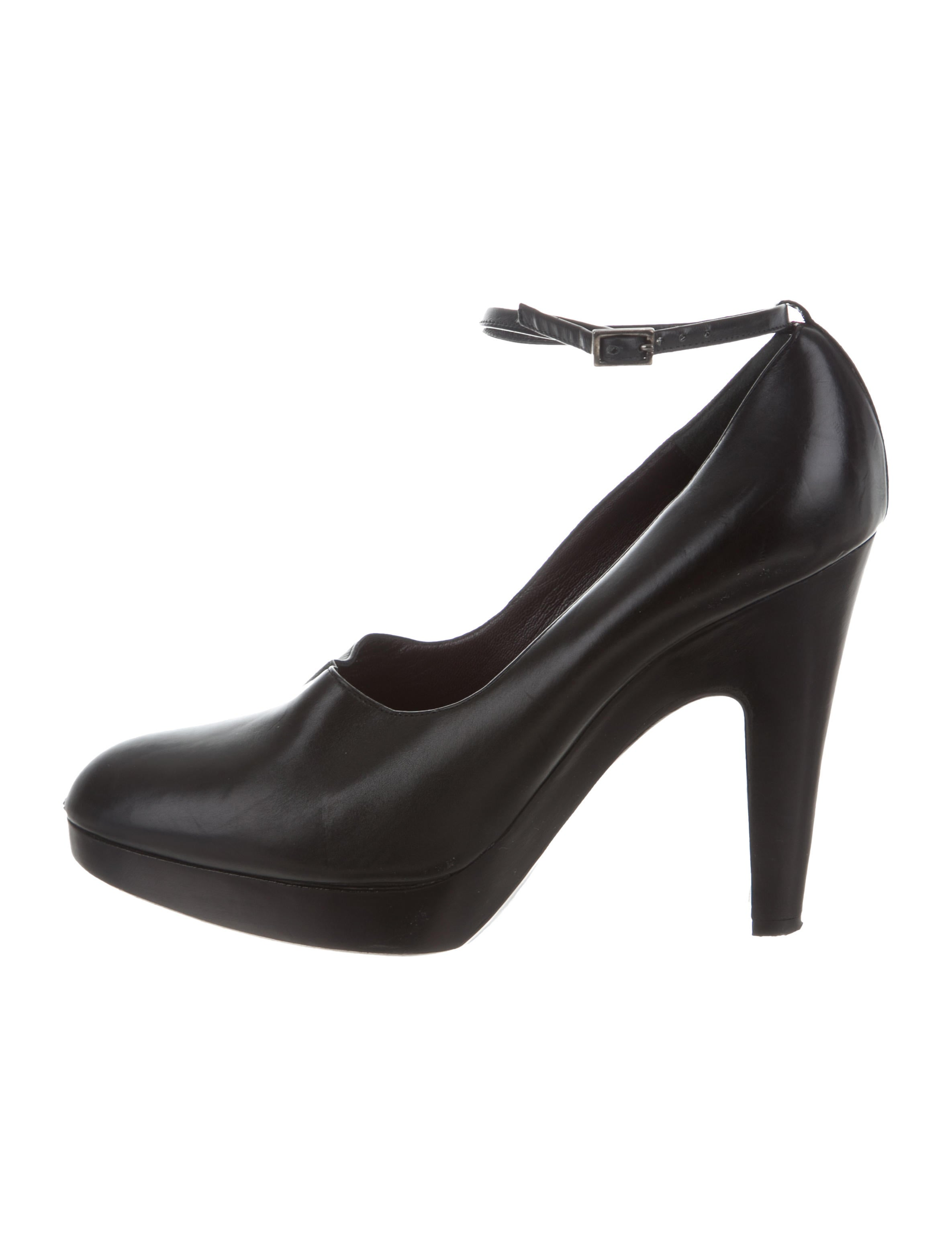 Jil Sander Leather Round-Toe Pumps pre order for sale cheap deals cheap footlocker pictures footlocker finishline for sale ALued2zT08