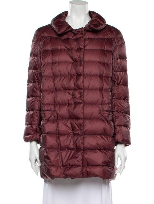 Jil Sander Down Coat Red