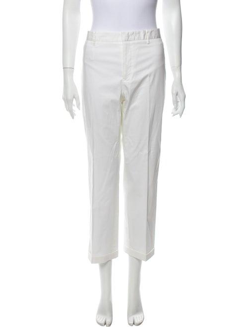 Jil Sander Straight Leg Pants White