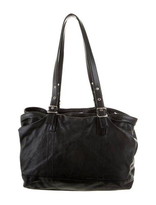 Jil Sander Leather Shoulder Bag Black