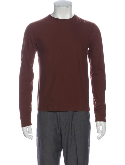 Jil Sander Long Sleeve T-Shirt brown