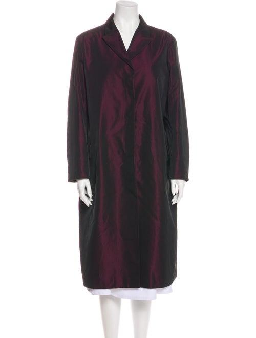 Jil Sander Trench Coat Purple