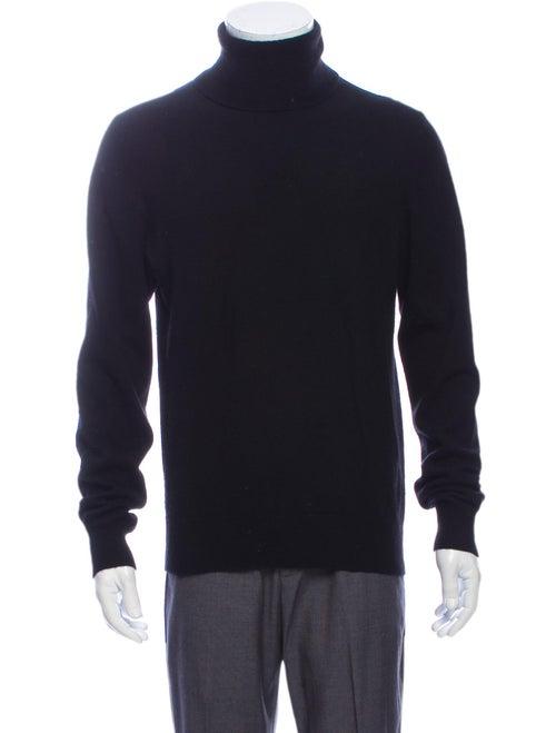 Jil Sander Turtleneck Long Sleeve Pullover Black