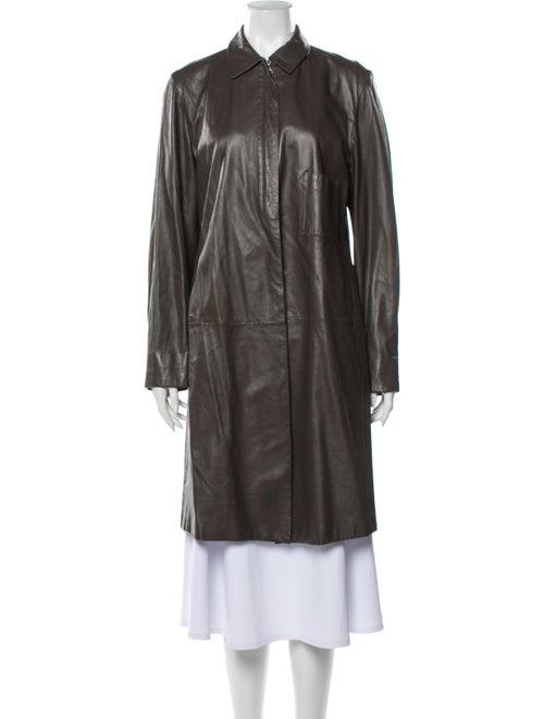 Jil Sander Trench Coat Brown