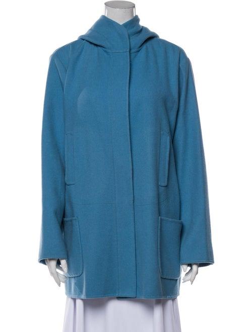 Jil Sander Cashmere Coat Blue
