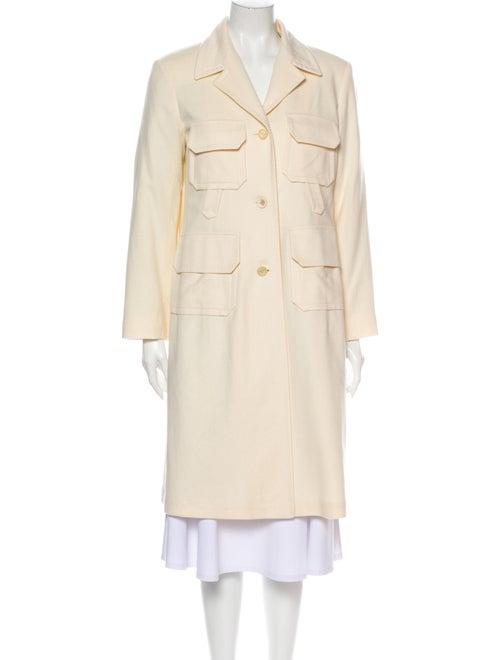 Jil Sander Fleece Wool Coat Wool